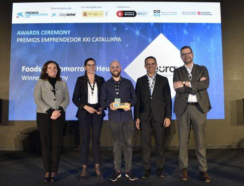 Heura  (Foods for Tomorrow) gana los Premios EmprendedorXXI en Cataluña