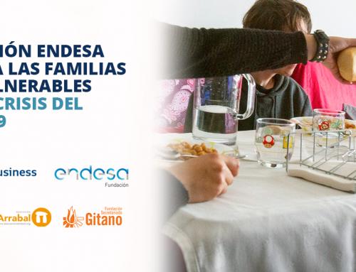 Fundación Endesa apoya a las familias más vulnerables por la crisis del Covid-19