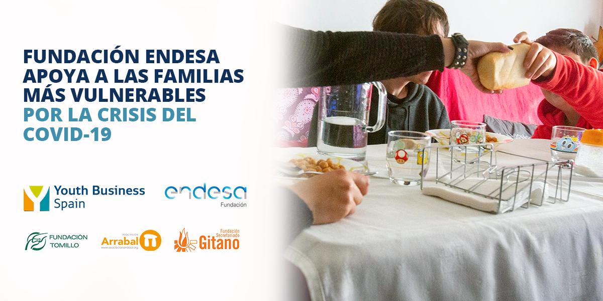 fundación endesa apoya a las familias más vulnerables